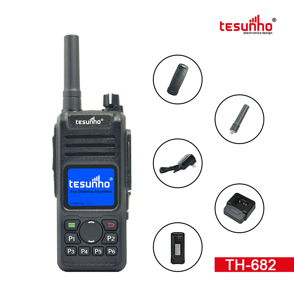 TH-682 4G NFC Security Two Way Radios With Battery