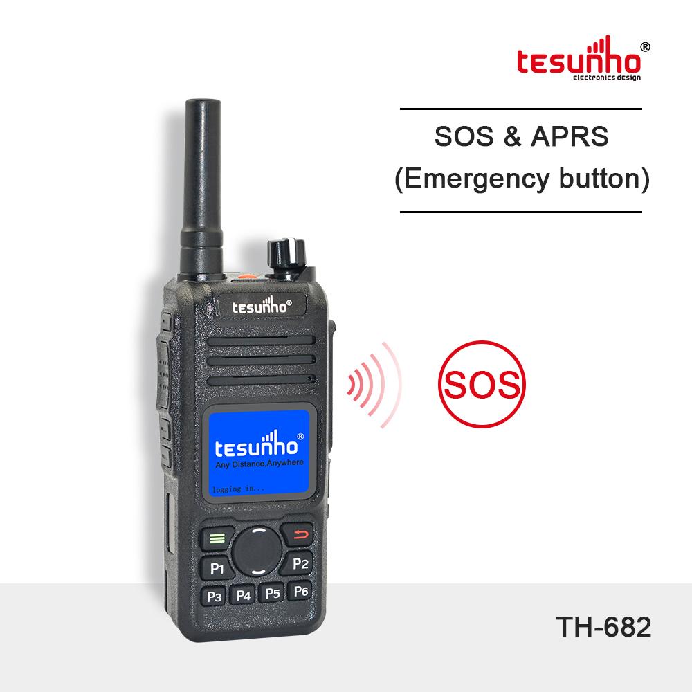 GPS Patrol Walkie Talkie For Security TH-682