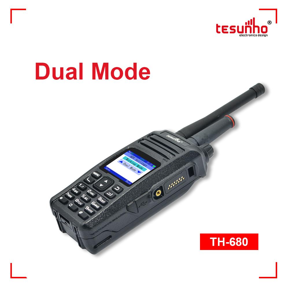 Dual Mode Analog VHF Sim Card Two-way Radio TH-680