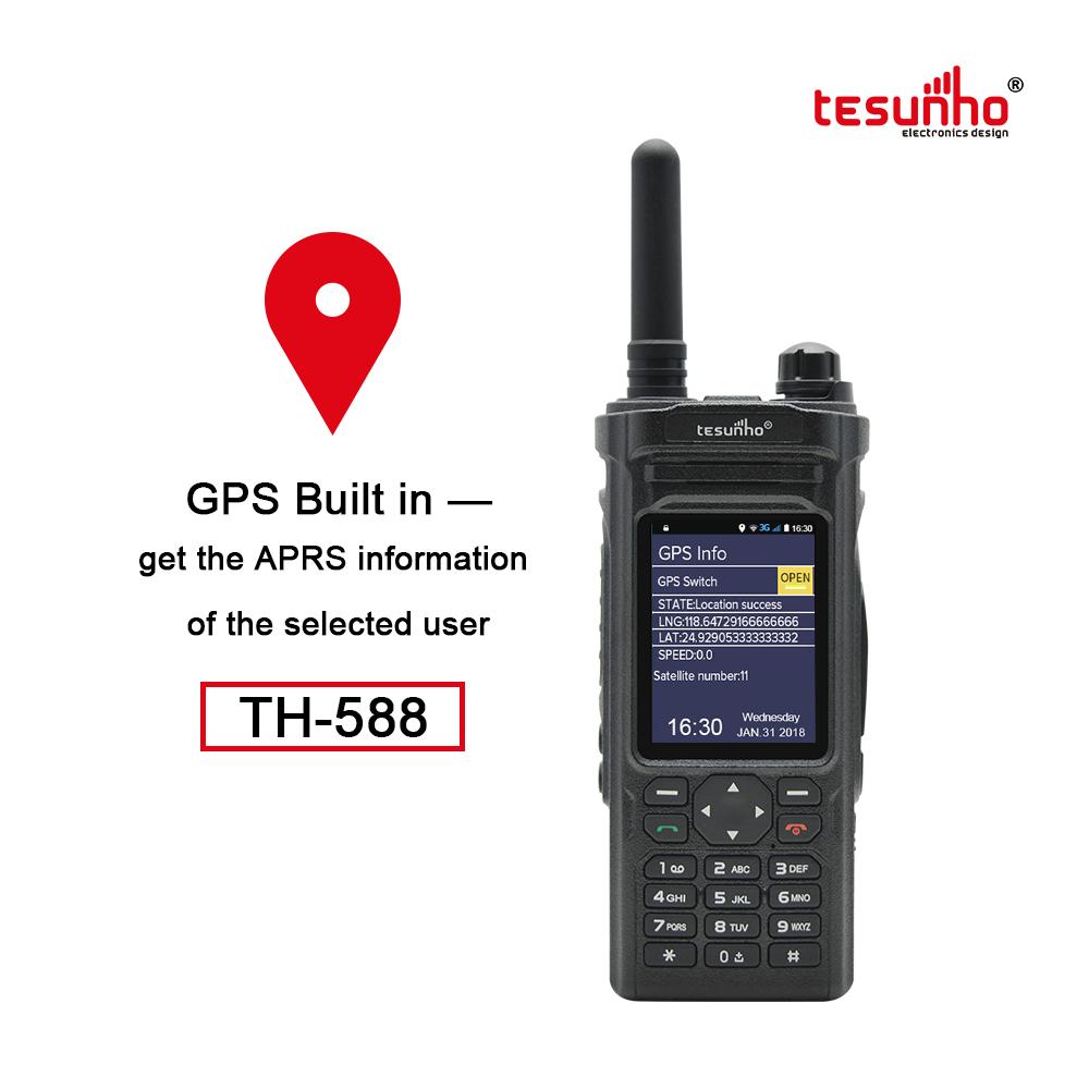 Wifi VoIP PoC Talkie Walkie Trunking System TH-588