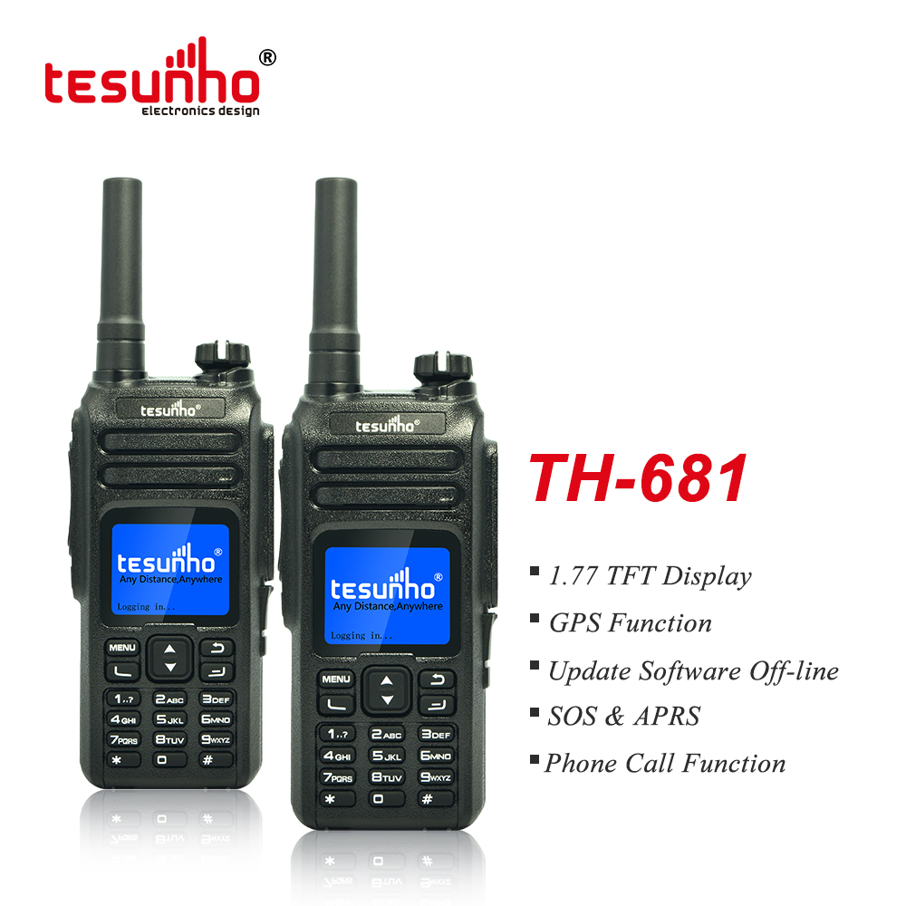 Tesunho TH-681 GSM PoC Radio, Nationwide Coverage Walkie Talkie With Full Keyboard