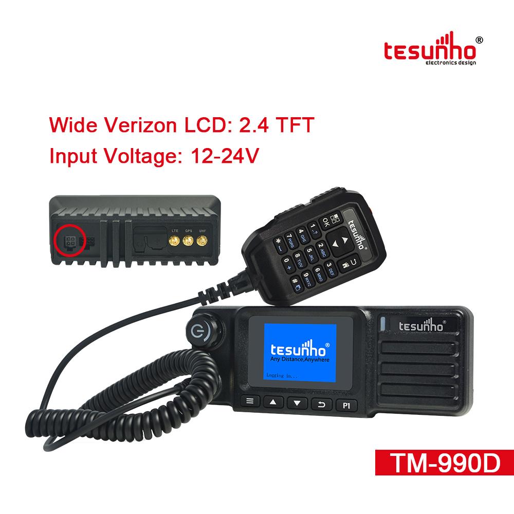 Car POC Mobile Radio Base Station TM-990D