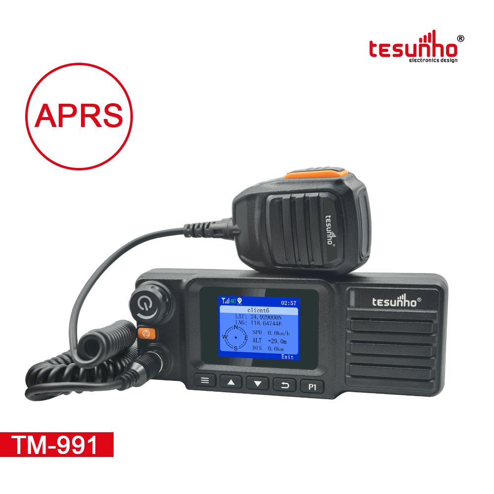 4G SOS Taxi Radio With Handy Mic Walkie Talkie TM-991