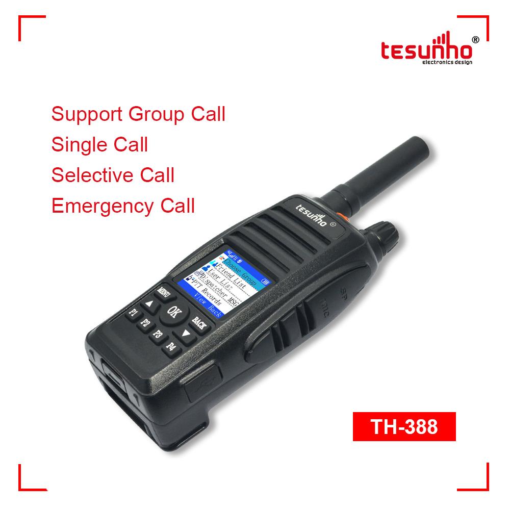 TH-388 LTE Airport Handheld Walkie Talkie