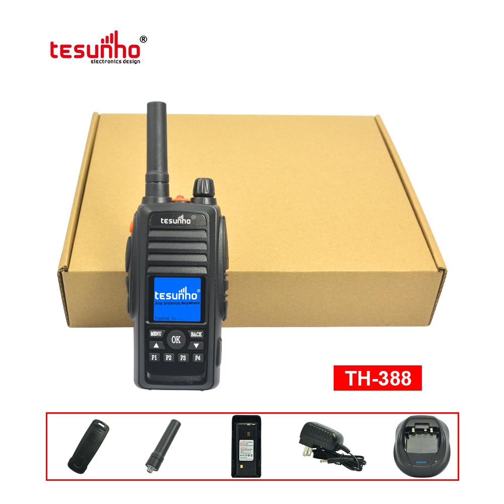 200 Mile Range Black Portable Radio Over IP TH-388