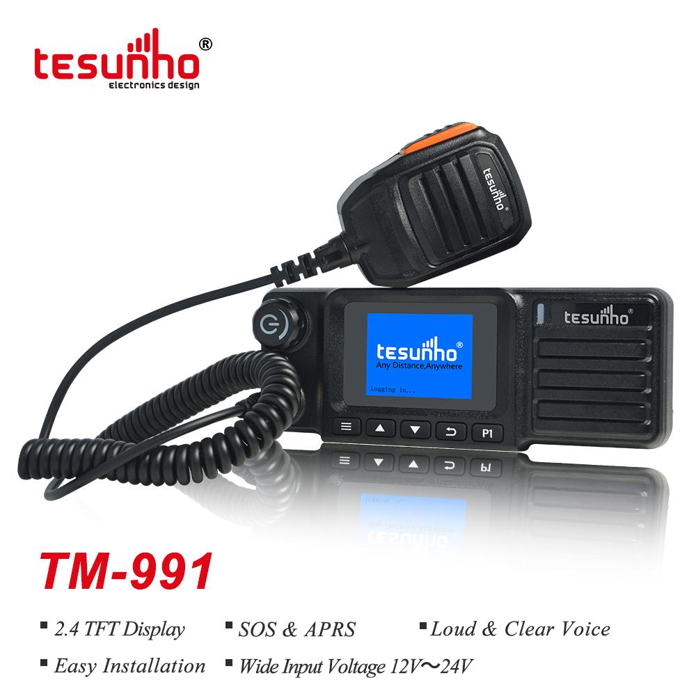 GPS SOS Long Range Two Way Mobile RadioTM-991