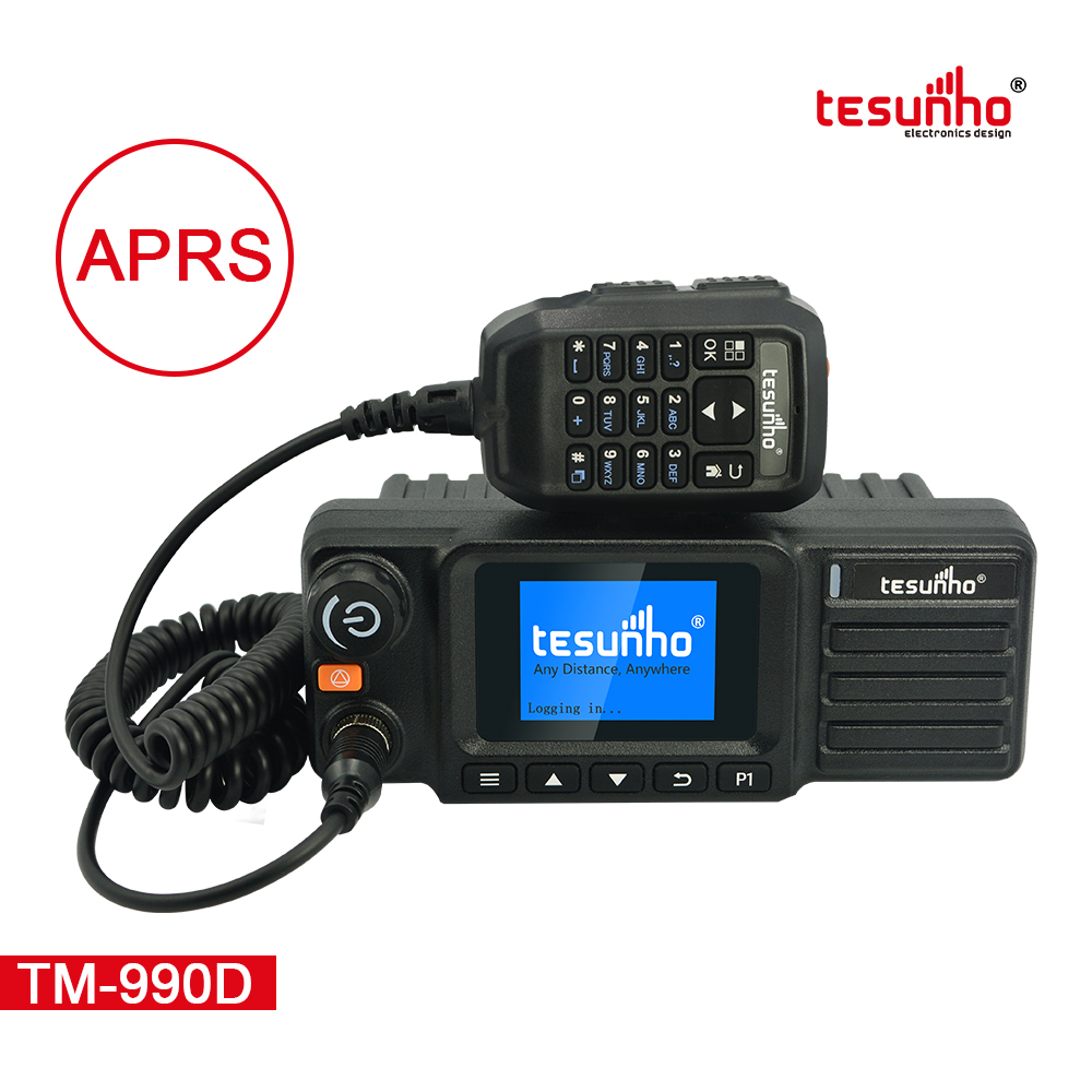 Dual Mode Fleet Product 4G LTE Car Radio TM-990D