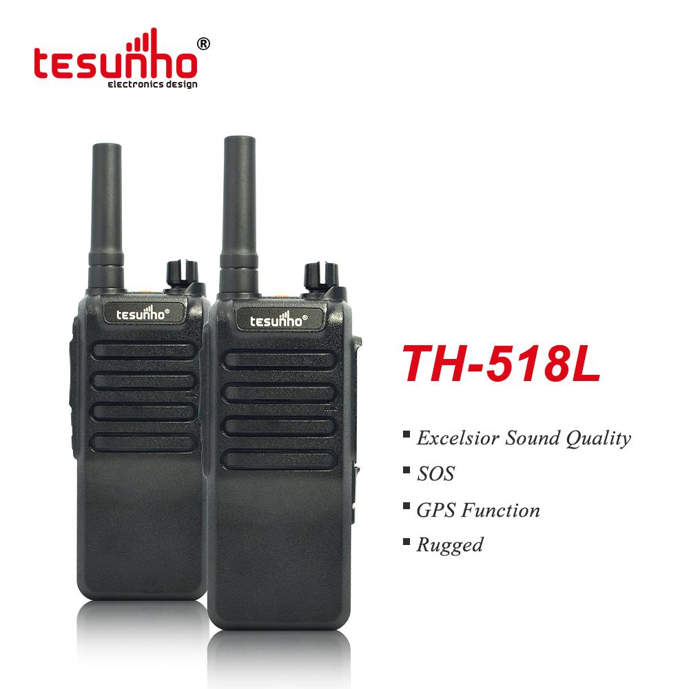 4G SOS GPS Two Way Radio Tesunho TH-518L