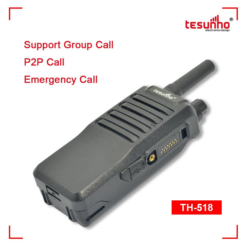GPS Network PTTPOC Radio Support 4G 3G 2G TH-518L