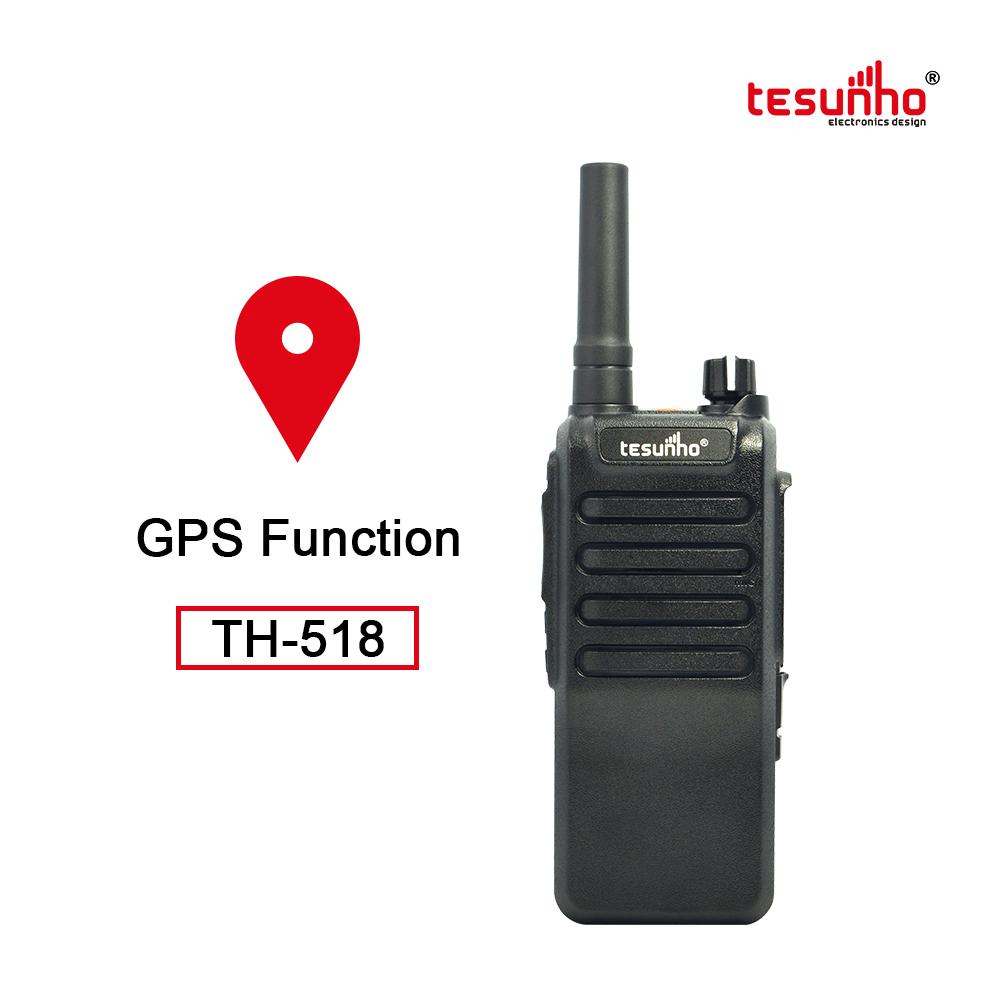 TH-518L POC PTT Radio Realptt Tranceiver GPS