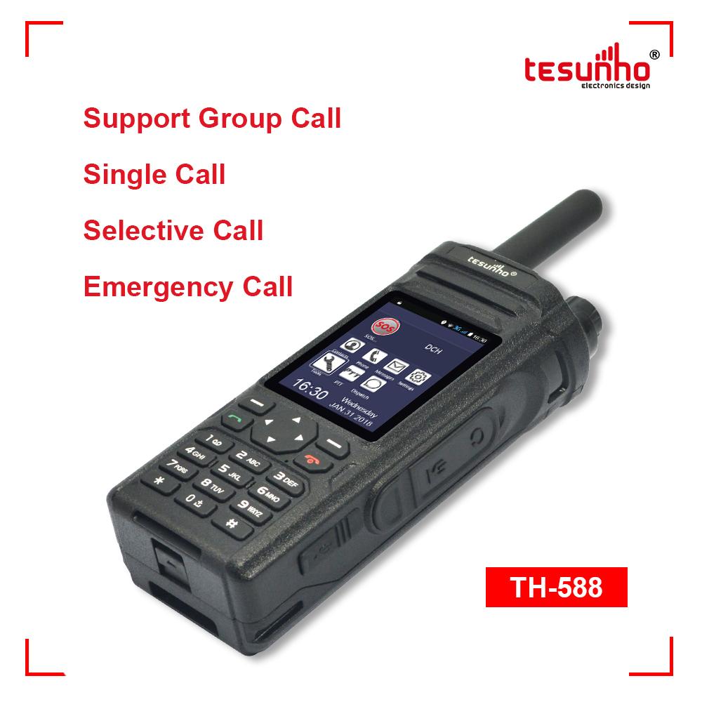 Tesunho TH-588 Handheld PoC Two Way Radio ID Alarm Single Call