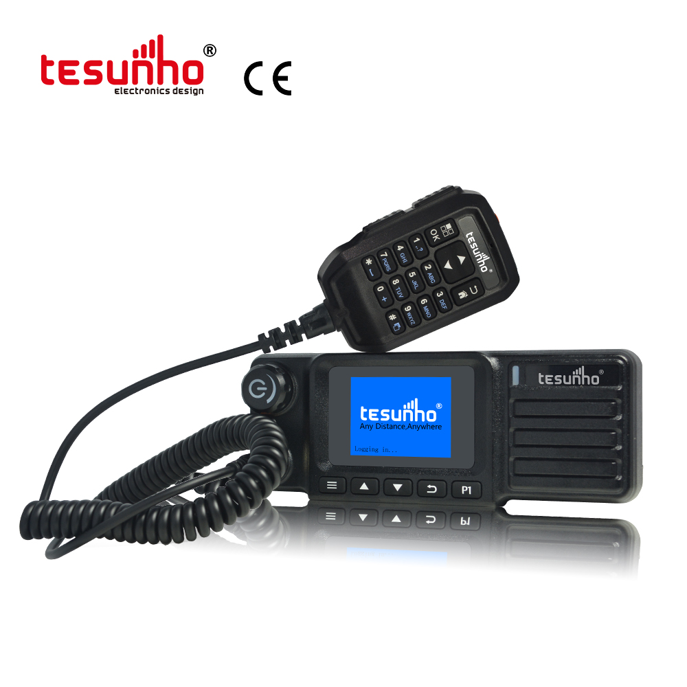 4G LTE Car Radio TESUNHO 2020 New Model  Walkie Talkie Transmitter 50km For taxi