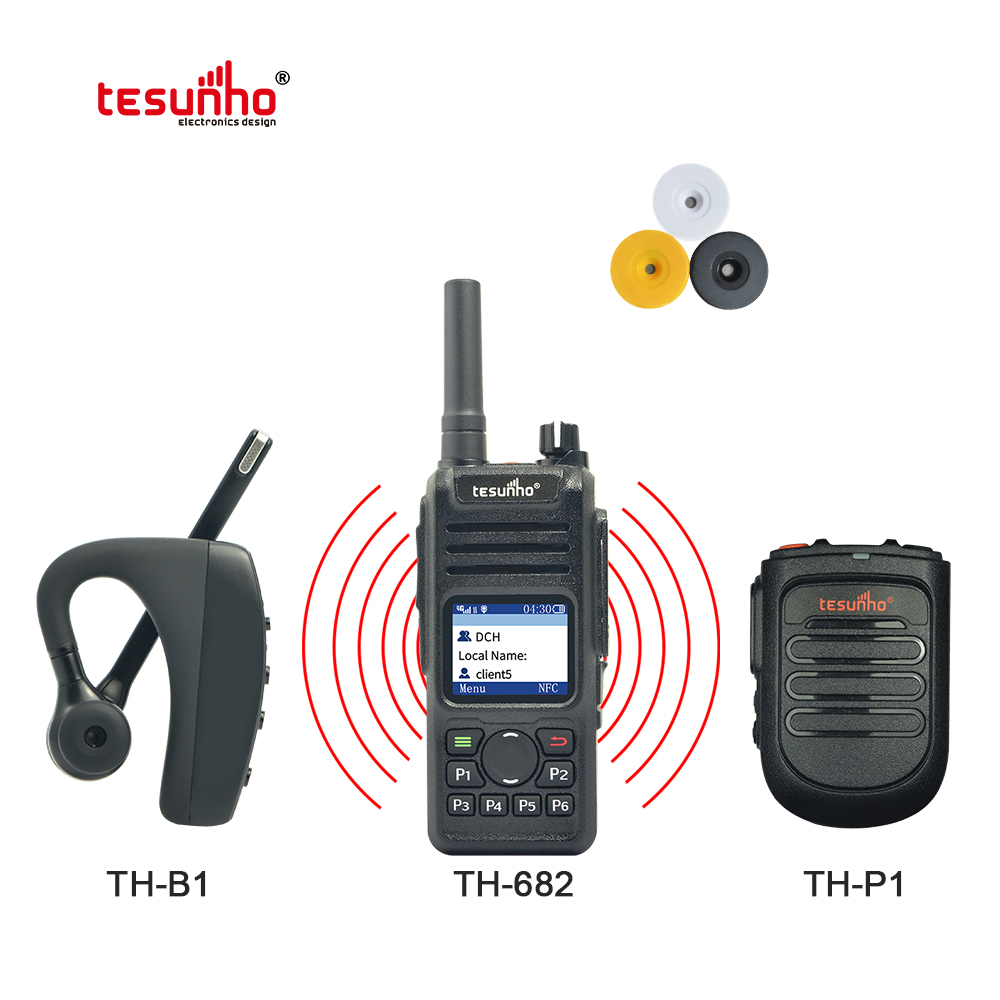 Universal Bluetooth 4G Lte Telsiz TH-682 Tesunho