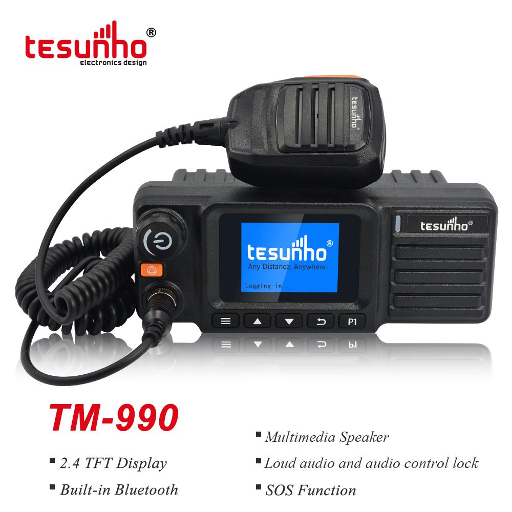 4G GPS Fleet Mobile 2 Way Radio With Sim Card TM-990