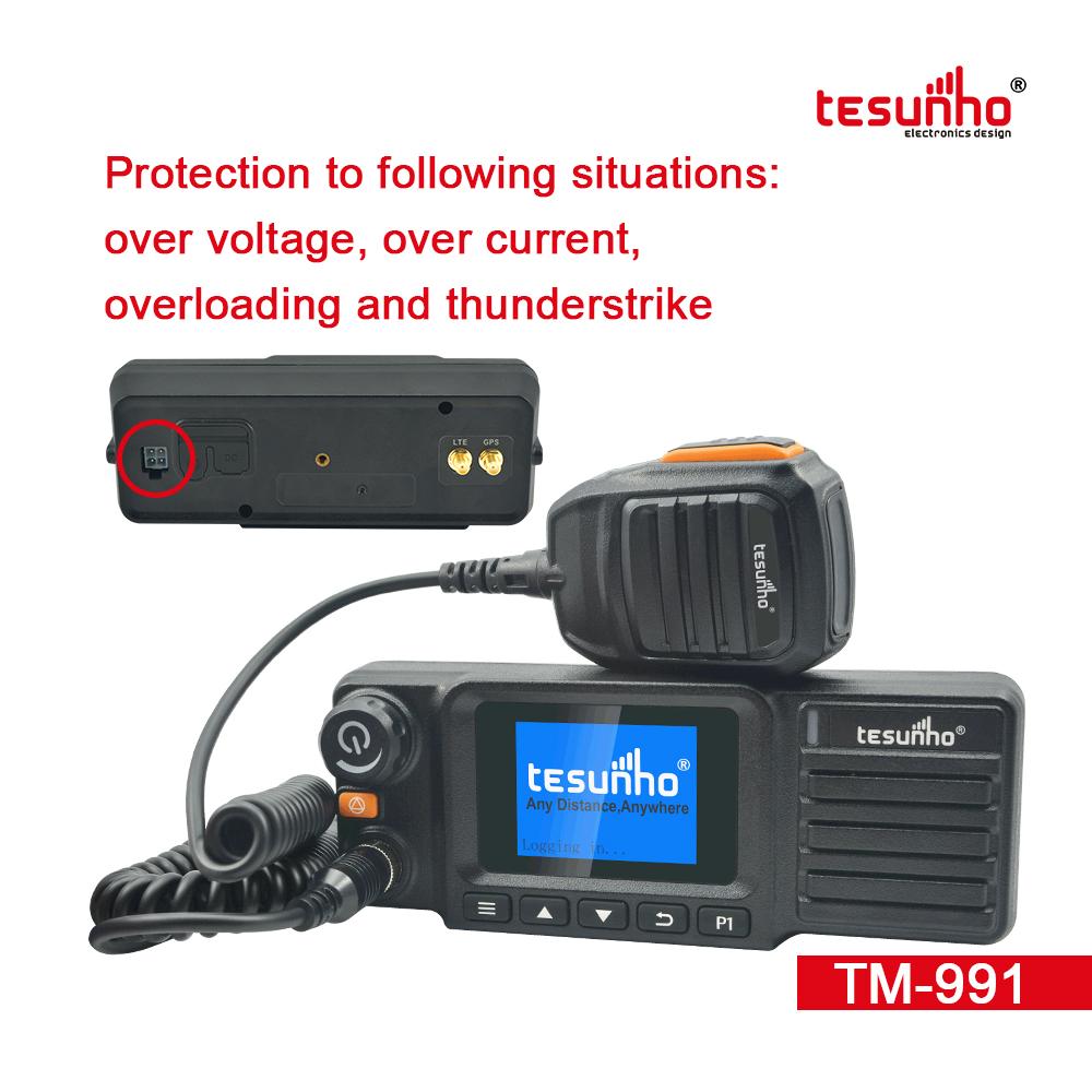 4G LTE GPS Car Radio Transceiver TM-991 Tesunho