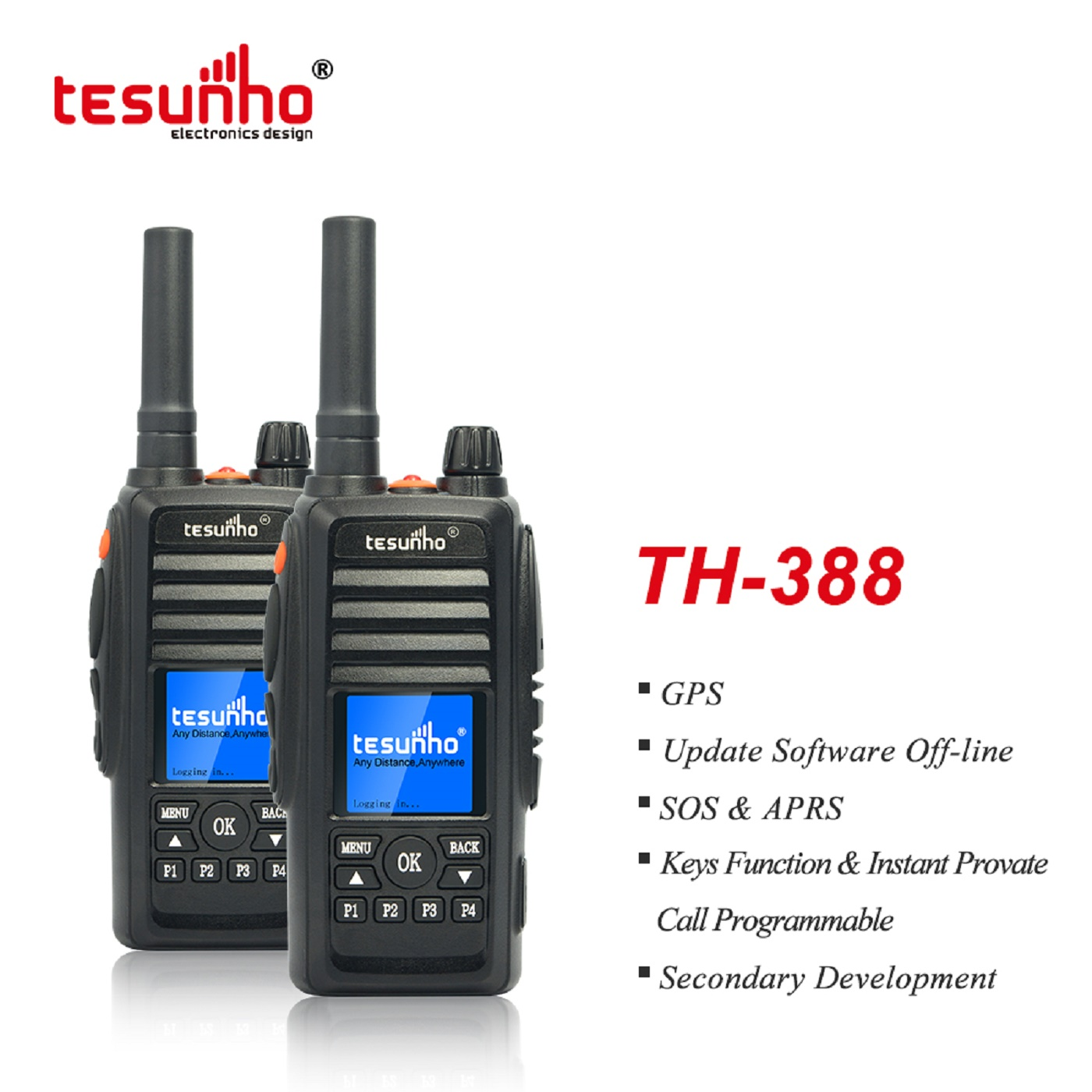 4G/3G/2G M network Walkie Talkie For Outdoor Events