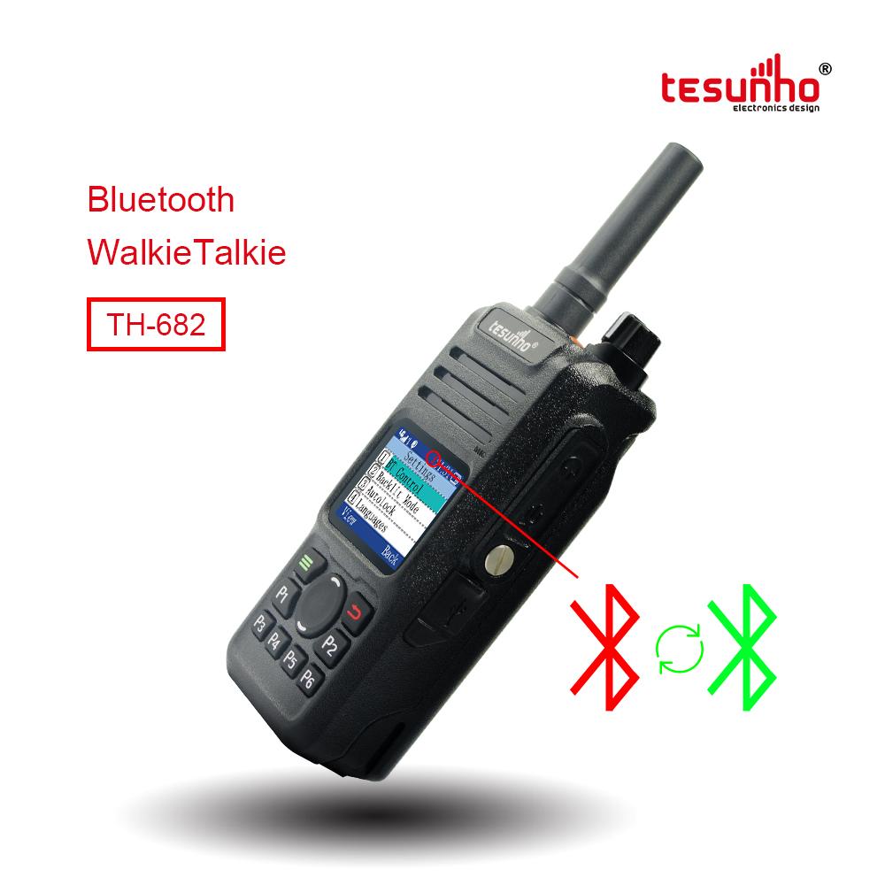 Waterproof BT Telsiz 4G Walkie Talkie TH-682