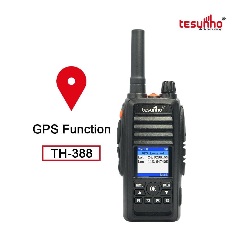 POC Handy Talkie 100km Range GPS Tracking TH-388