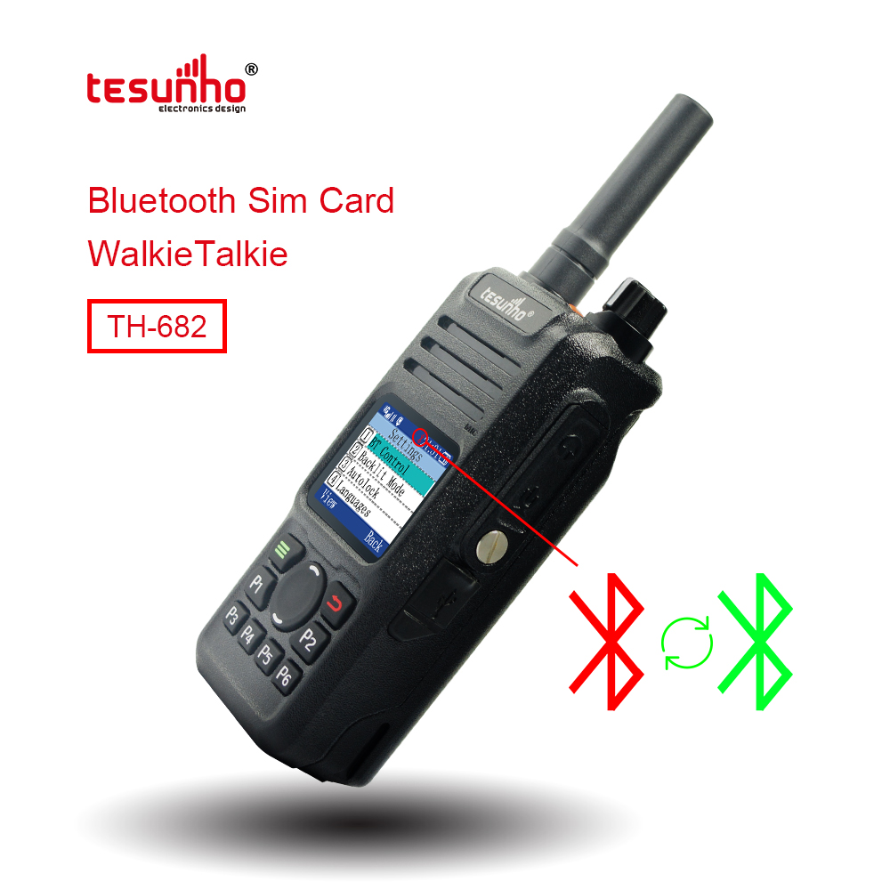 Professional 4G 3G 2G network IP Radios TH-682