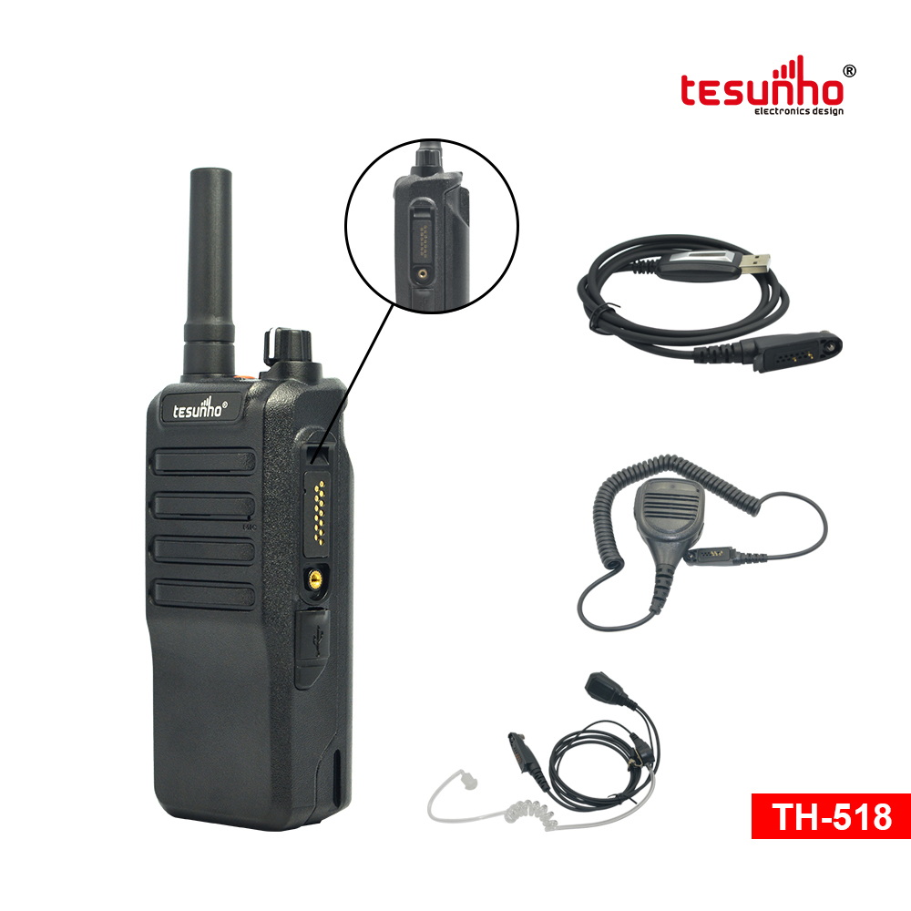 Android Digital Security Walkie Talkie TH-518