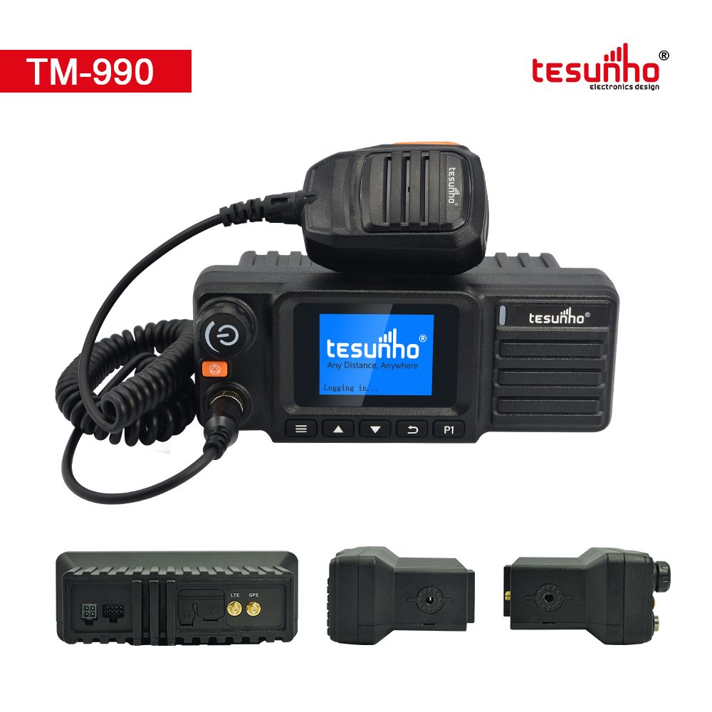 Mobile PoC Two Way Radio Professional GPS Tracking TM-990