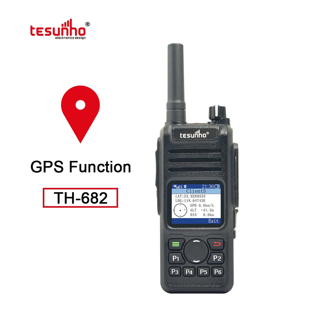 TH-682 LTE 4G RFID NFC Two Way Radio For GPS Patrol
