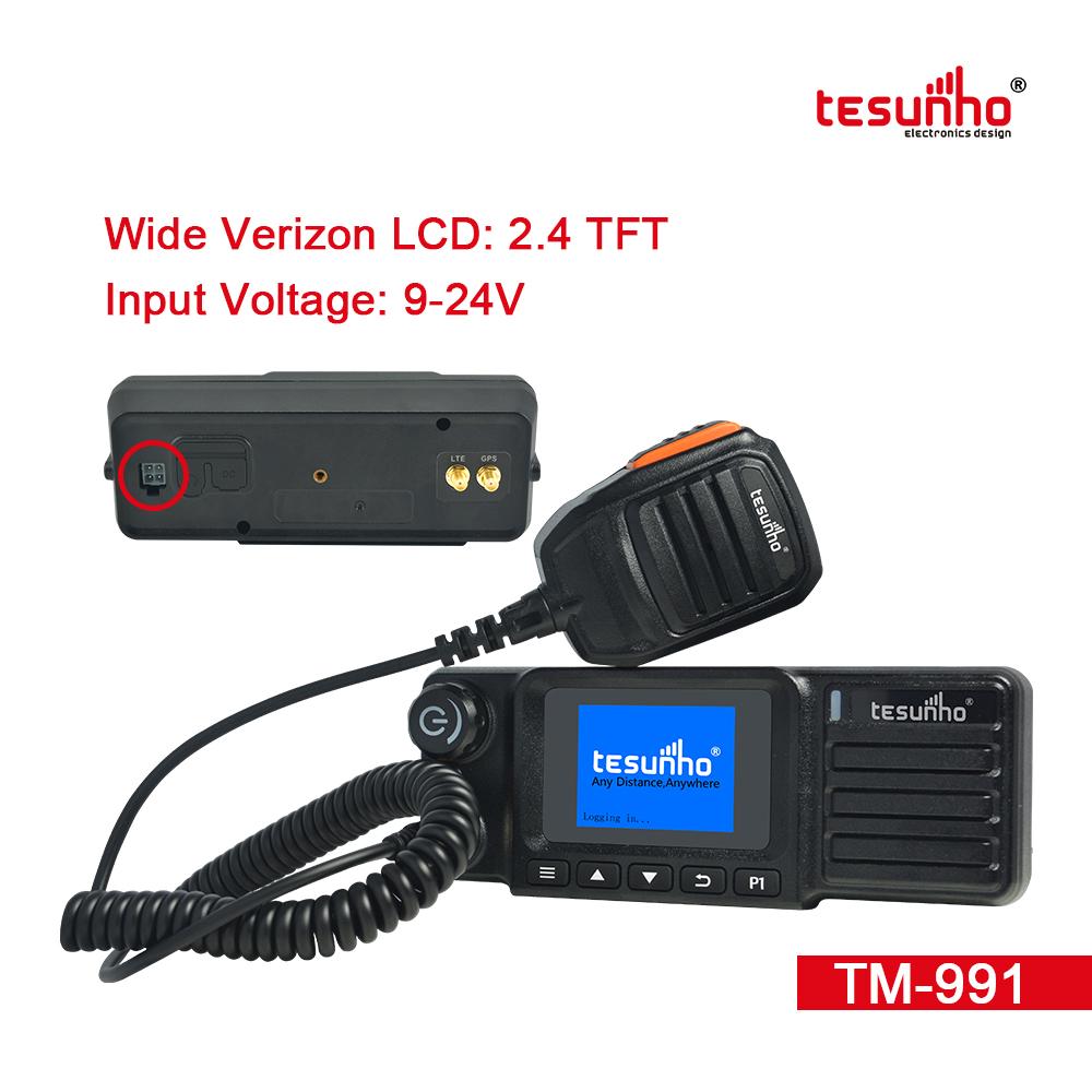 4G LTE PTT Over Cellular Walkie Talkie Car TM-991