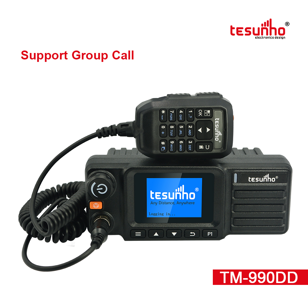 The Latest Smartptt Taxi Mobile Radio TM-990DD