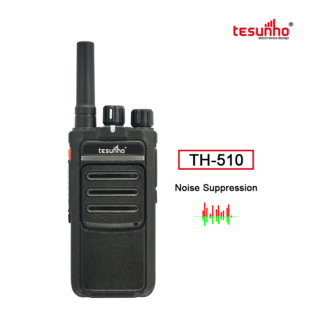 TH-510 LTE Network Radio Real PTT Noise Cancelling