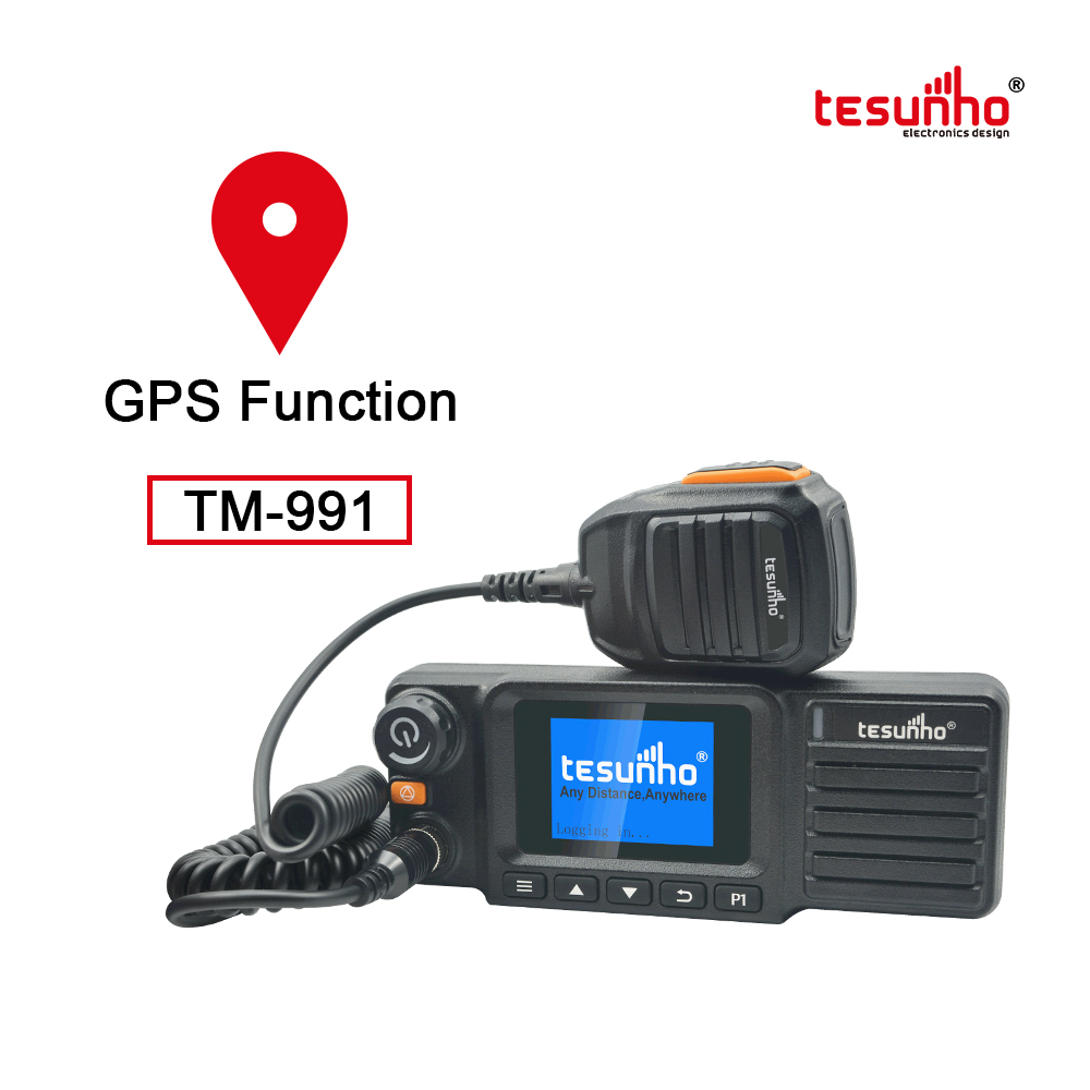 GPS Tracking Walkie Talkie For Driving TM-991