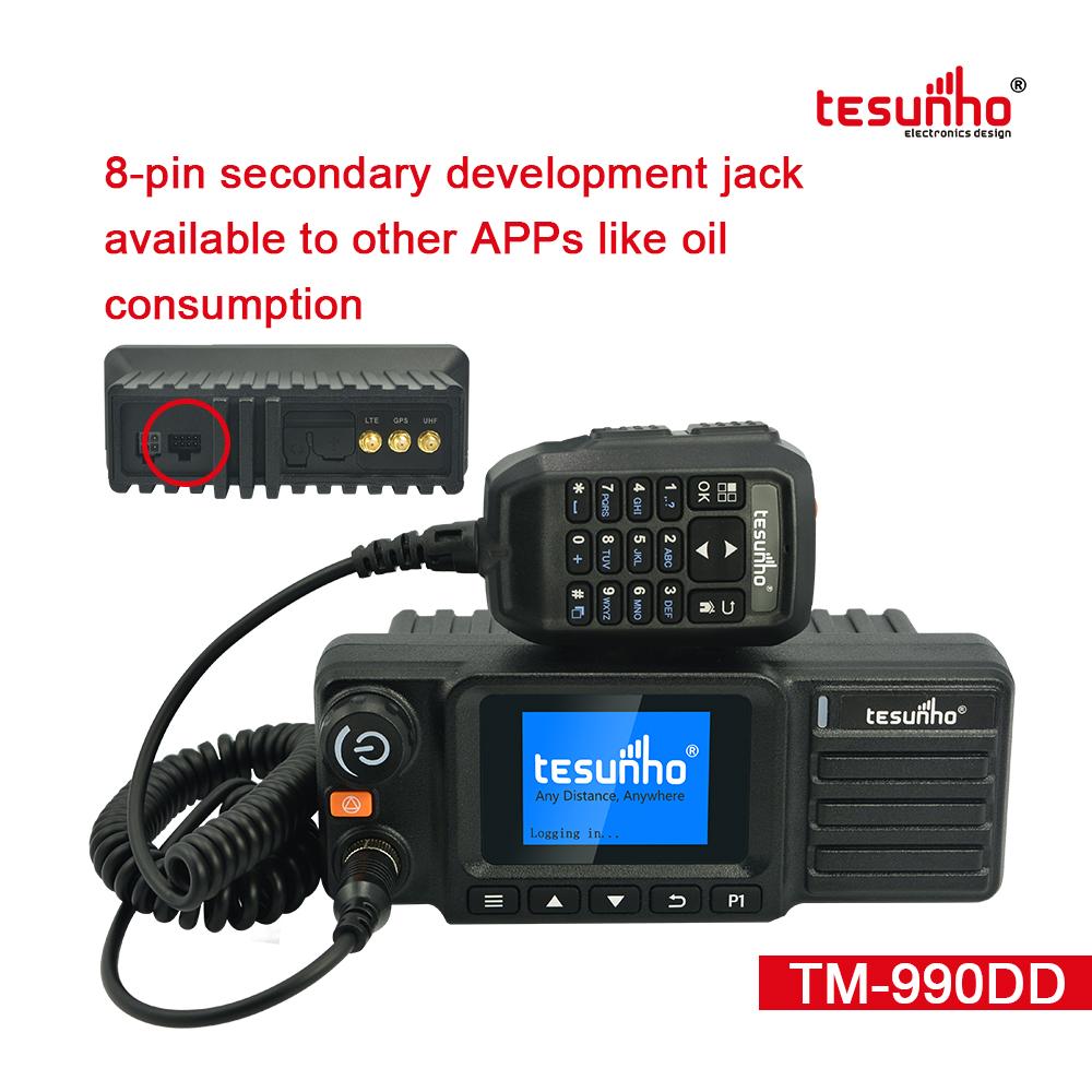 GSM DMR Car Radio SIM Card Walkie Talkie TM-990DD