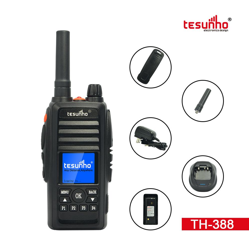 Walkie Talkie PTT Phone Radio With GPS TH-388