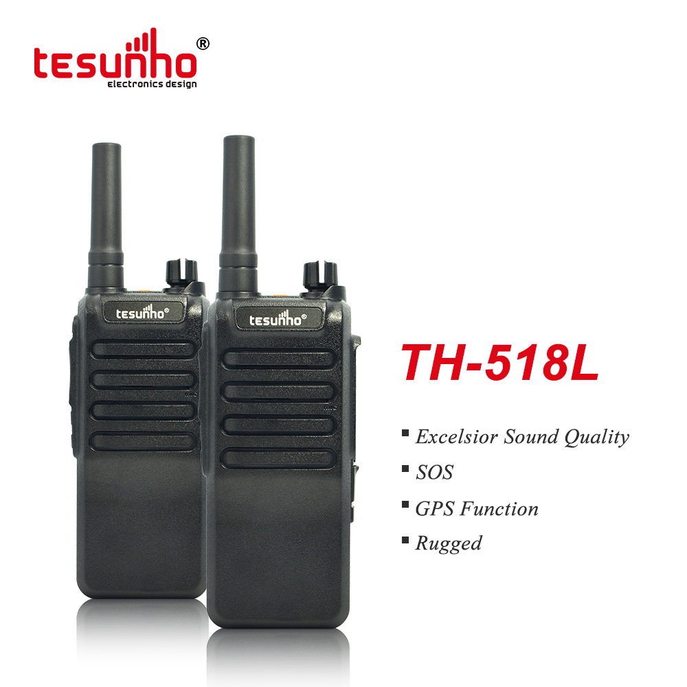 Tesunho Non-screen Rugged Walkie Talkie 4G Radio TH-518L
