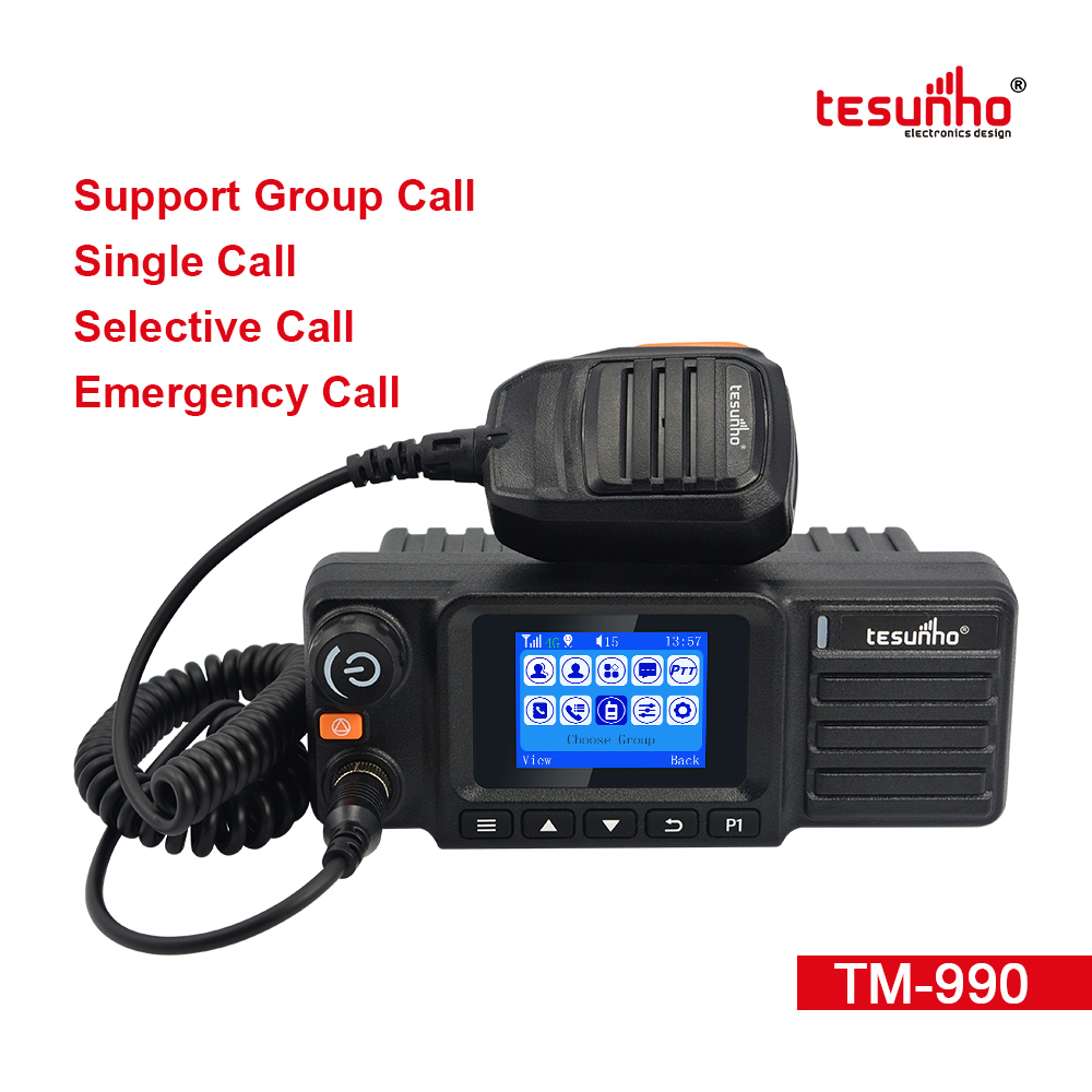 TM-990 Network PTT Mobile Radio With Bluetooth