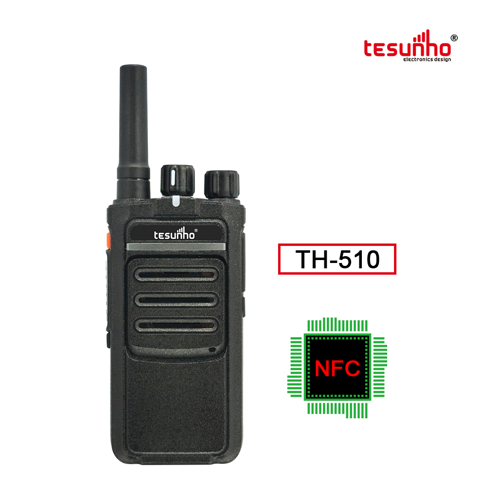 OEM 2 Way Radio NFC Security Guard Equipment TH-510