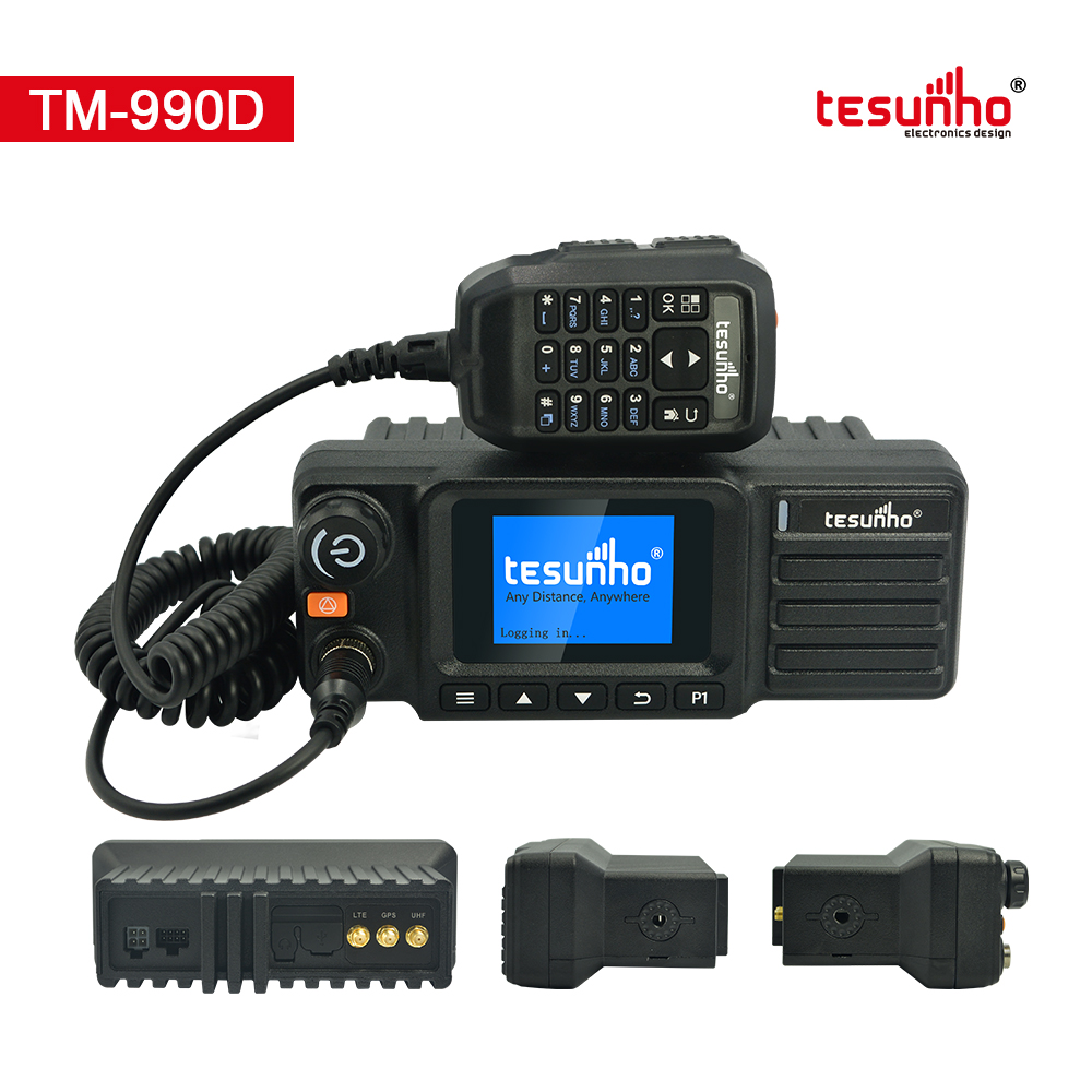 Dual Band Analog Network Car Walkie Talkie TM-990D