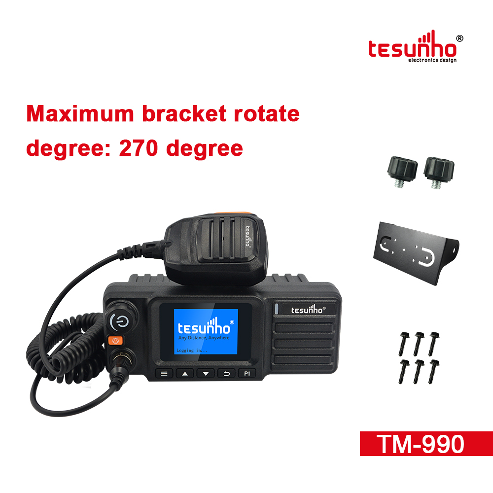Bluetooth PTT Mobile Radio POC Tesunho TM-990