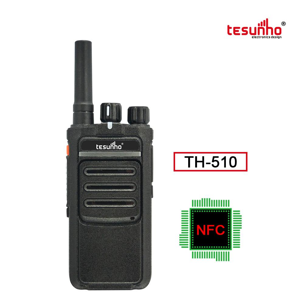 Newest TH-510 Mandown NFC PoC Walkie Talkie