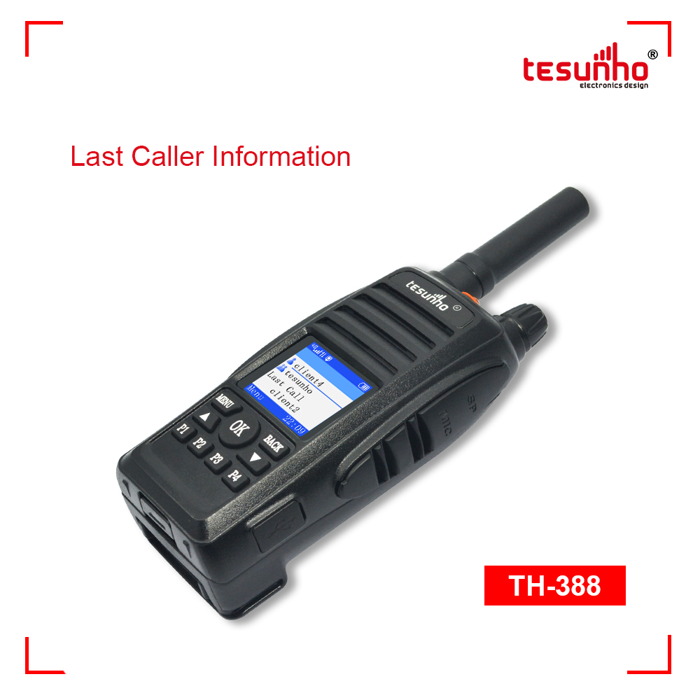 Wireless Scanners Handheld Police Radio TH-388