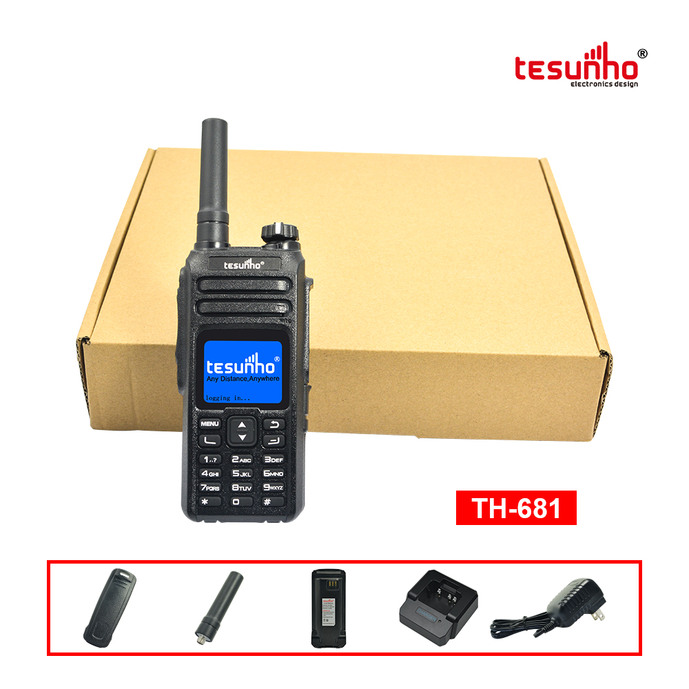 Large-Scale Event Security Patrol IP Radios TH-681