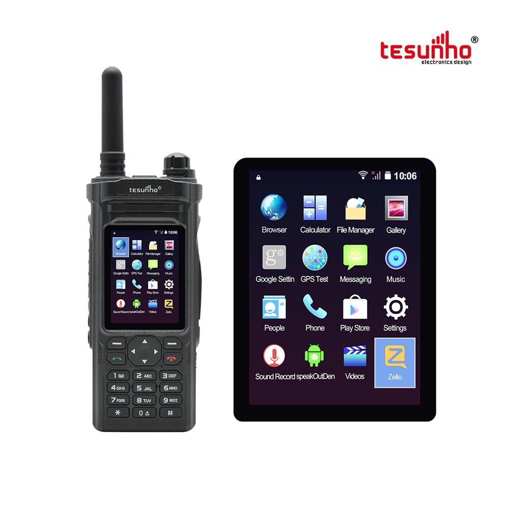 Tesunho TH-588 PTT Zello Portable Radio SIM Card