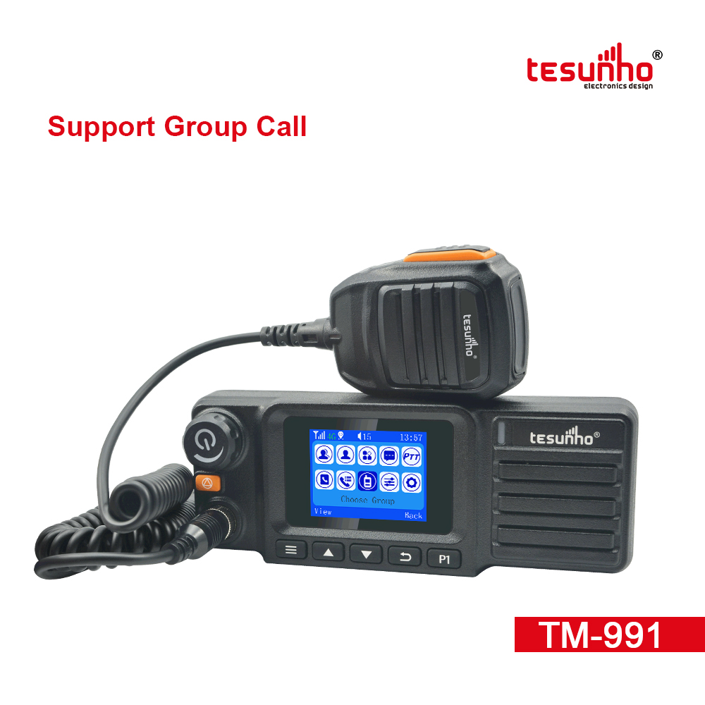 Communication System 4G LTE FCC Mobile Radios TM-991