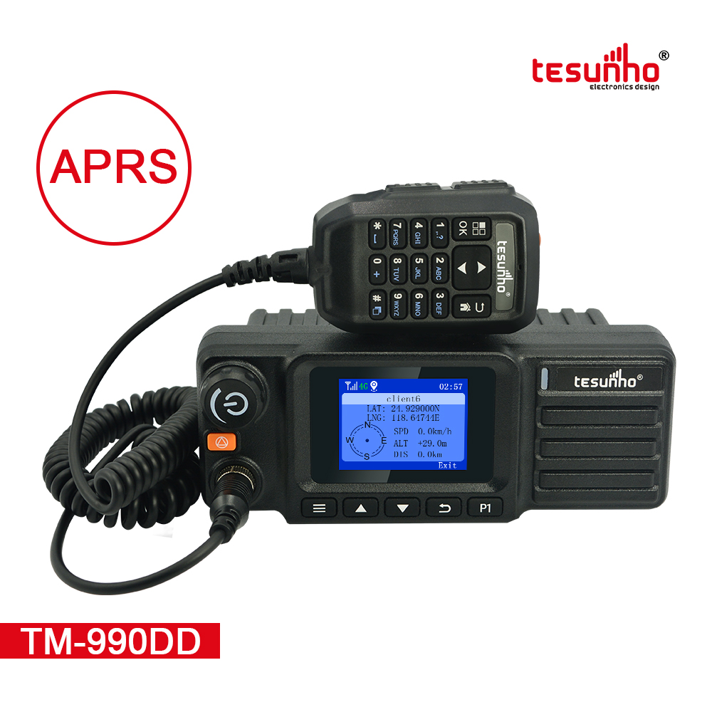 TM-990DD Mobile LTE Radios DMR UHF 400-470MHz