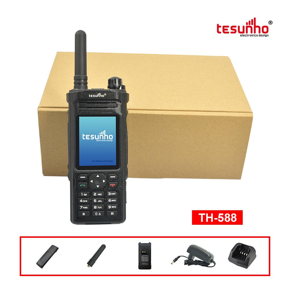 TH-588 3G LCD Display Android PoC Walkie Talkie