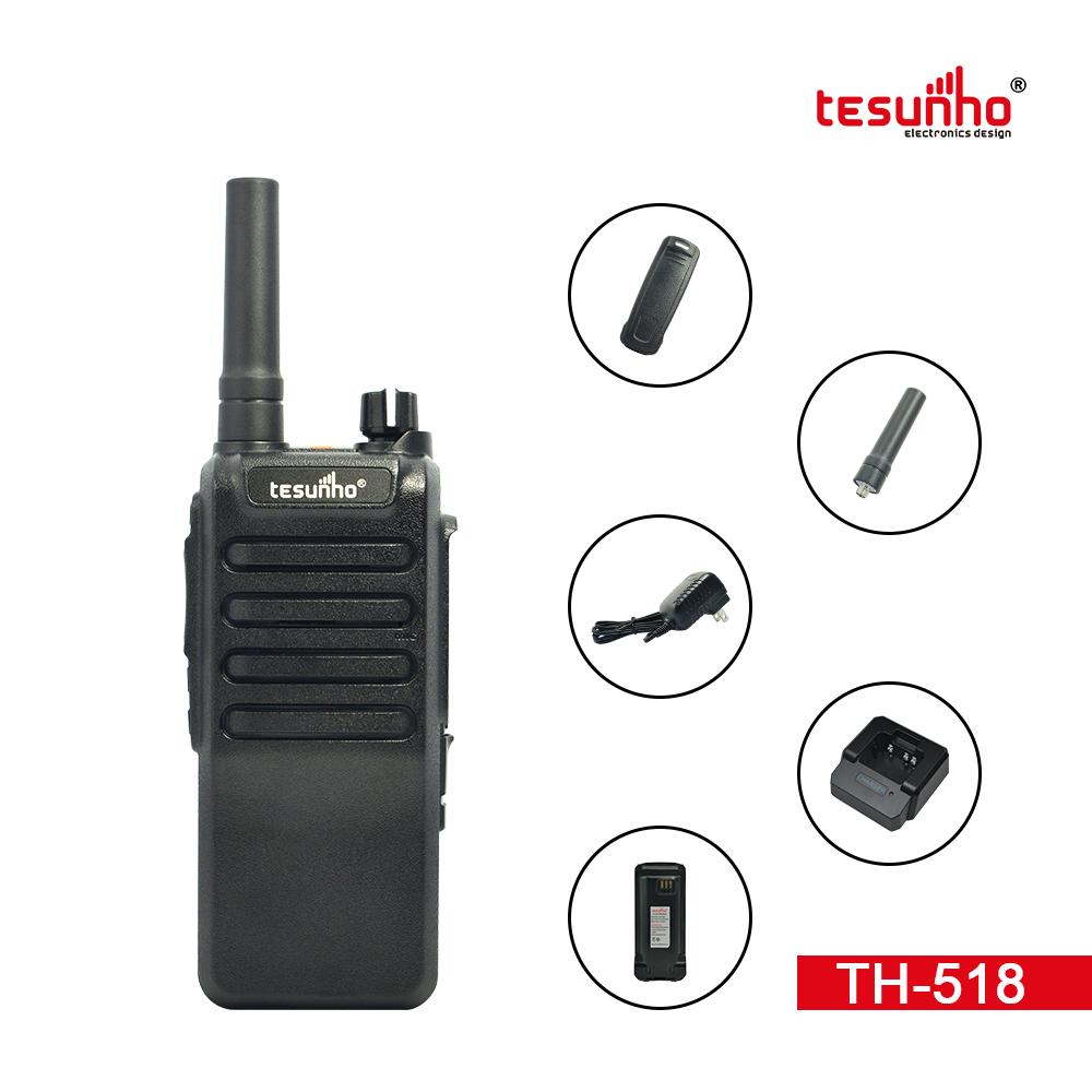 GSM WCDMA Black Best 2 Way Radios TH-518