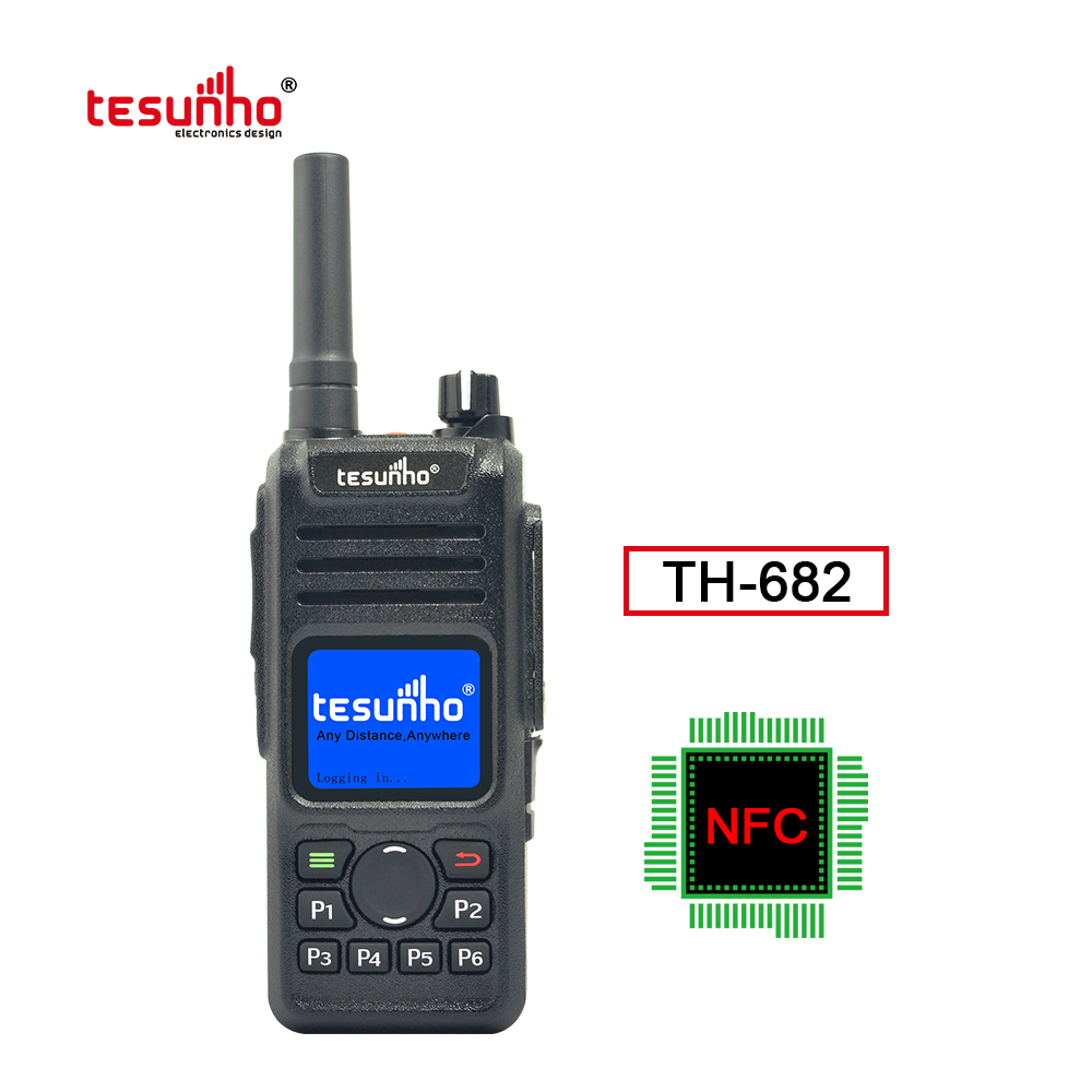 2021 Best Sell NFC LTE Two Way Radio TH-682
