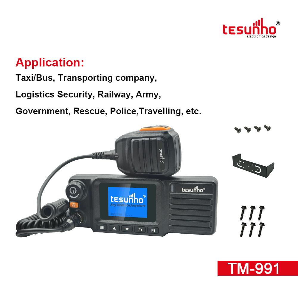 Tesunho 4G SIM Card IP Mobile Radio Low Moq TM-991