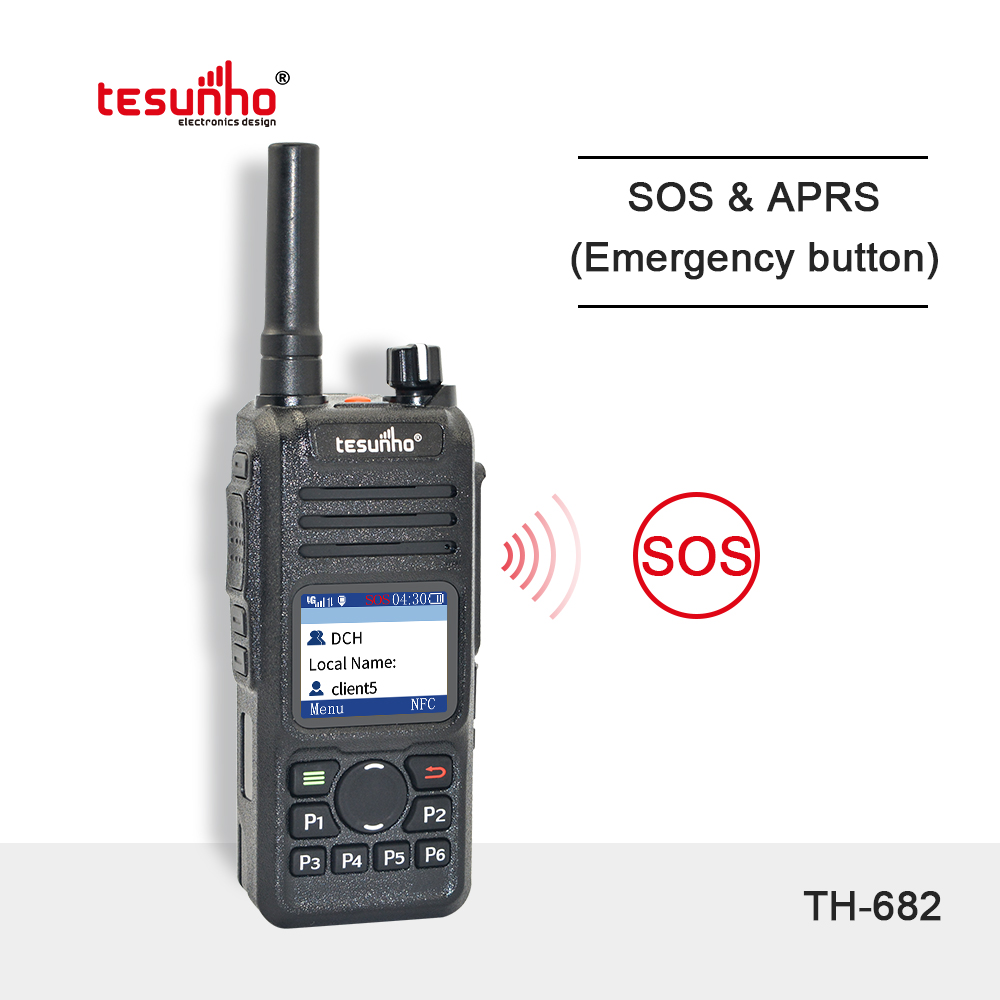 Handheld Two-way Radios SOS NFC Police Style TH-682