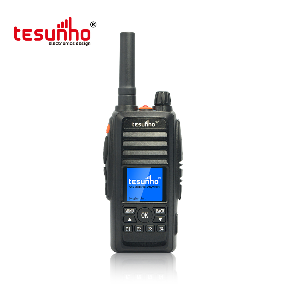 GPS  Smart PTT Walkie Talkie TESUNHO TH388