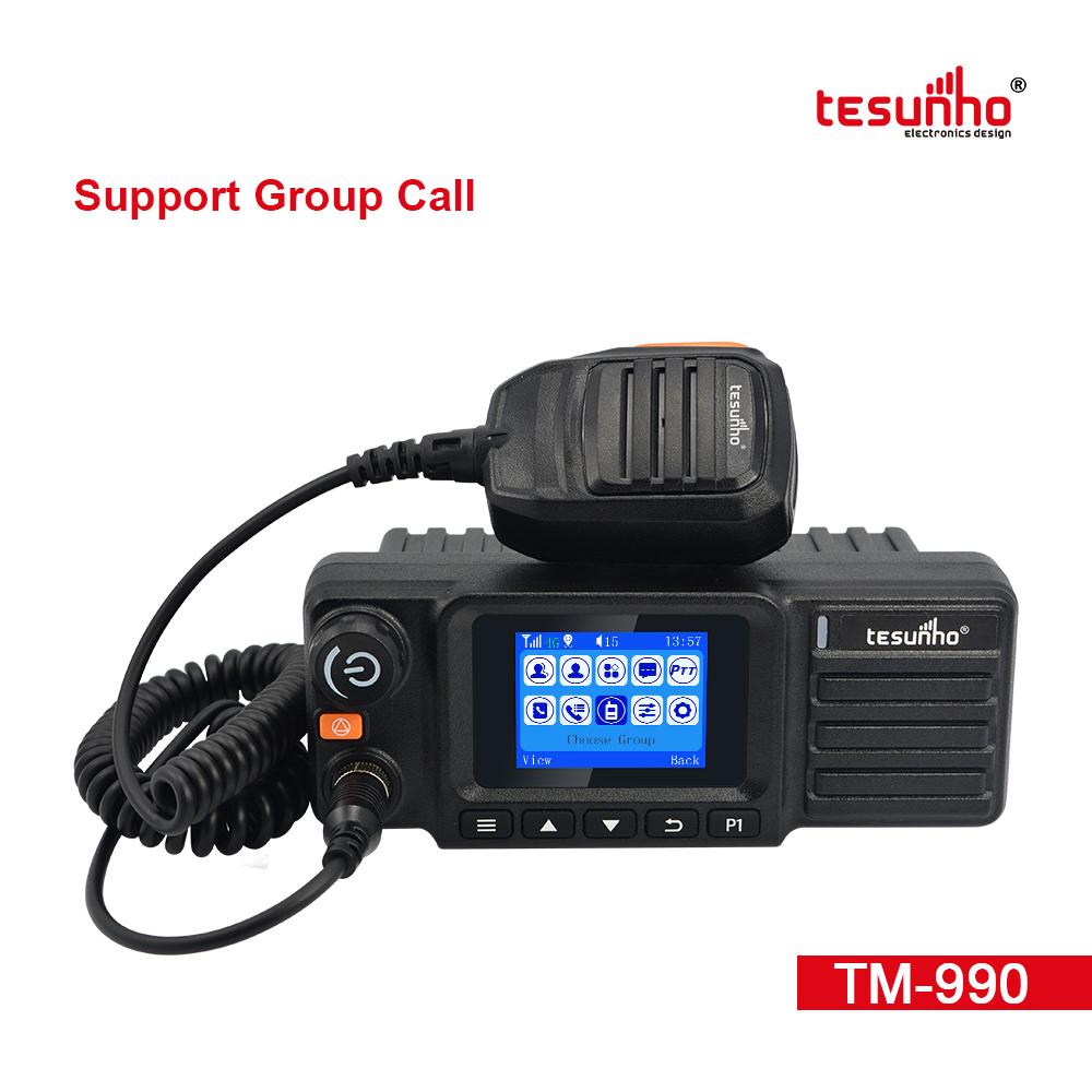 TM-990 LTE Vehicle Mounted Bluetooth PoC Walkie Talkie